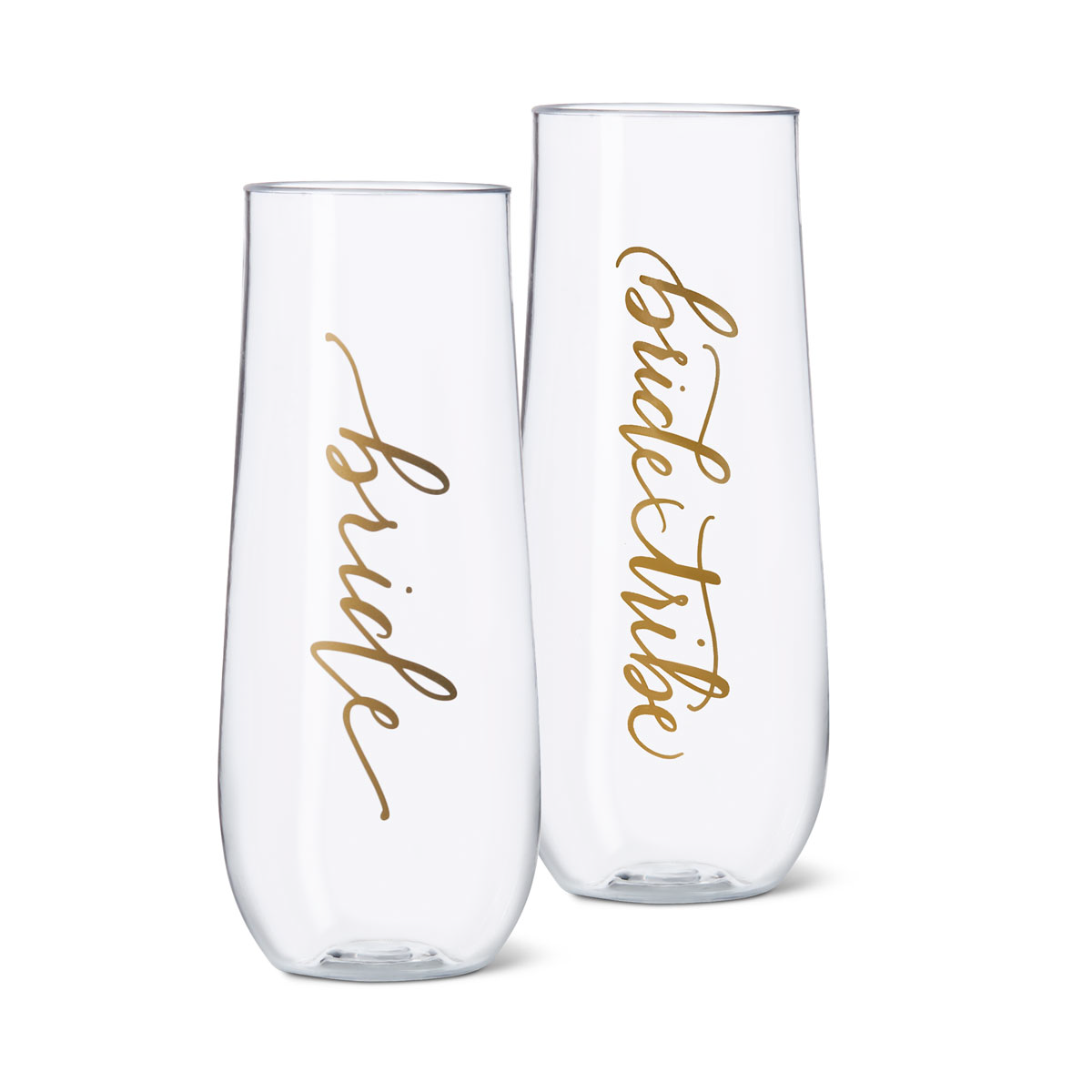 Bride Tribe Durable Plastic Stemless Champagne Cup