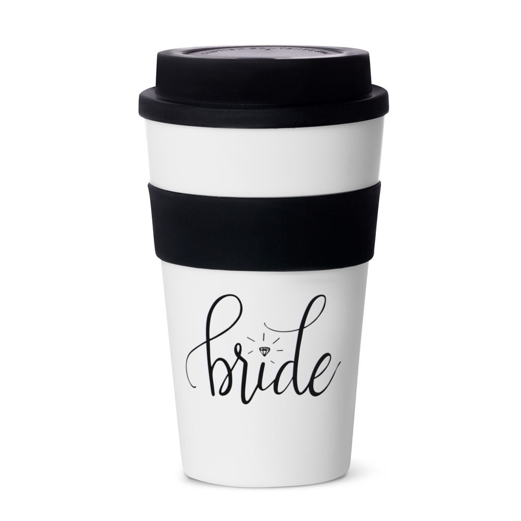 Black Bride Tribe 12 oz. Coffee Tumblers