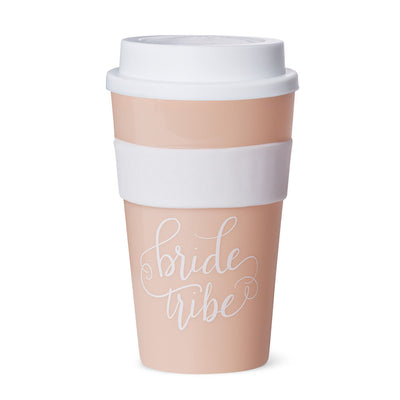 Blush Pink Bride Tribe 12 oz. Coffee Tumbler