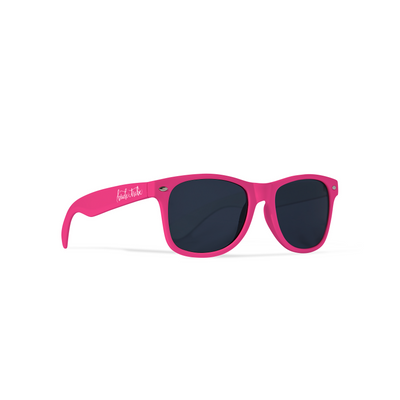 Neon Pink Bride Tribe Sunglasses