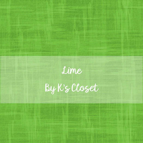 Lime blender, fabric by the yard, retail