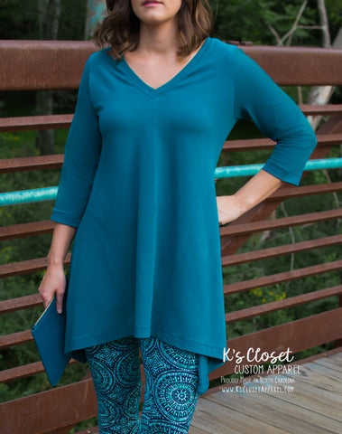 Madison Tunic in Teal