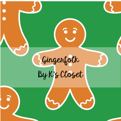 Gingerfolk, custom fabric RETAIL