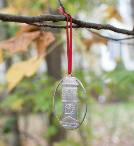 Hillsborough NC Pewter Ornament