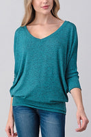 Dolman V-Neck Top
