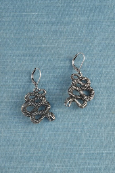 Single Snake Earrings