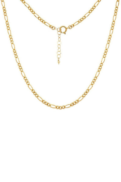 Thin Figaro Chain Necklace