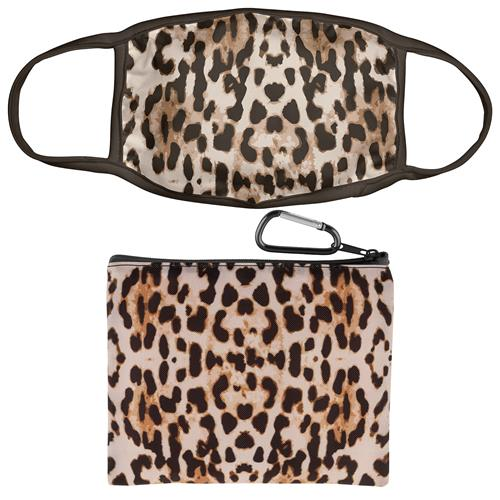 Leopard Essential Mask/Pouch