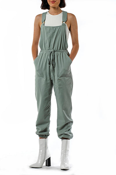 Wooden Eyelet Jumpsuit