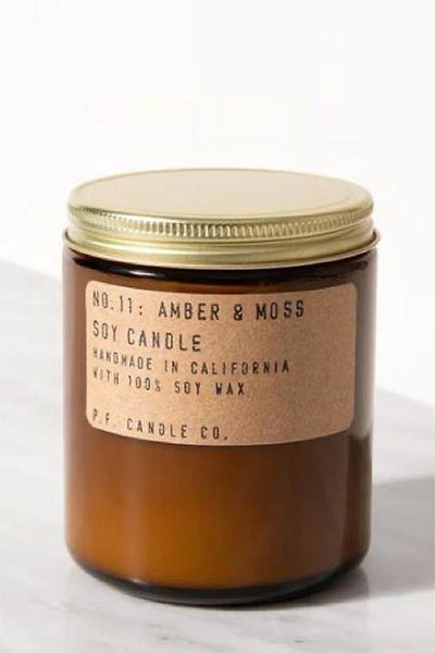 Amber & Moss 7.2oz Classic Candle