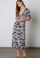 Ruffle Wrap Maxi Dress