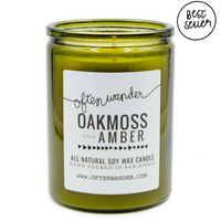 Oakmoss and Amber Signature Candle
