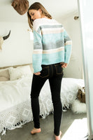 Stripe Pattern Sweater
