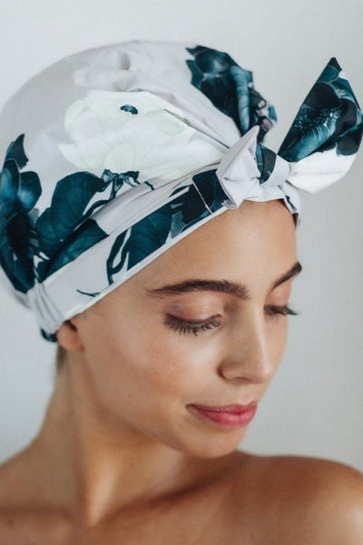 Floral Shower Cap