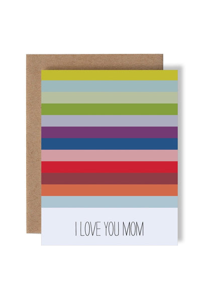 Rainbow Mom Card