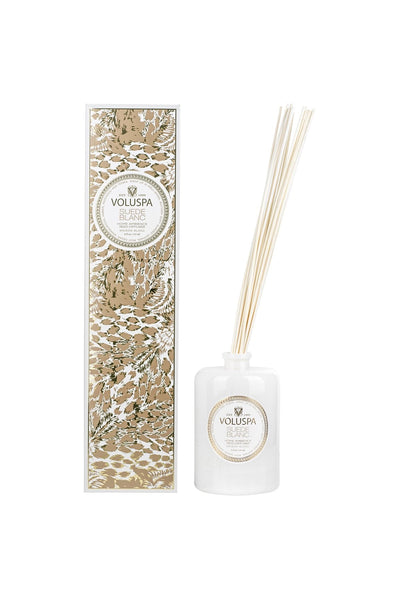 Suede Blanc Reed Diffuser