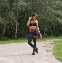 Black and Pink Warrior Leggings (Limited)