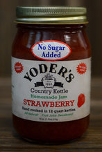 18oz (Pint) Yoder's No Sugar Added Strawberry Jam