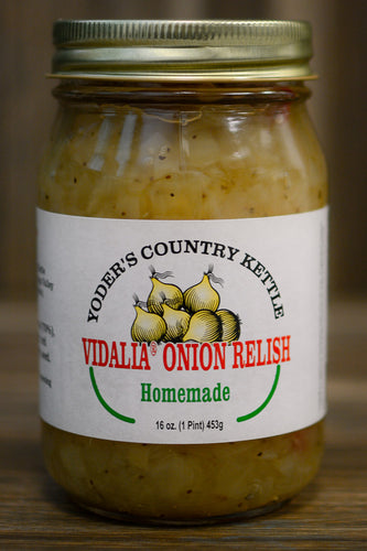 16oz (Pint) Yoder's Vidalia Onion Relish