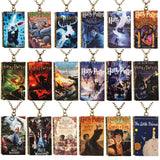 New Arrival Harry potter Book style Necklace Pendant