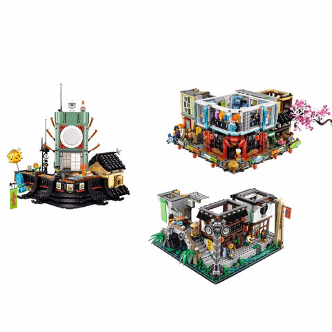 New Arrival 2017 Ninjago City Building with 4953 Pcs – Suit Your