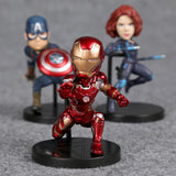 Hot 2017 Christmas Gift Avengers 2 with 6 model figures