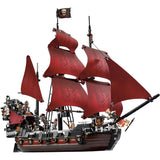 2017 Pirates of the Caribbean Queen Anne's revenge with 1151 pcs