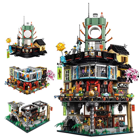 New Arrival 2017 Ninjago City Building with 4953 Pcs
