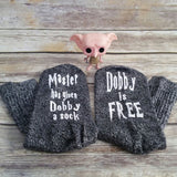 Hot New Arrival Dobby is free Sock
