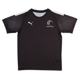 Puma Silver Ferns Youth Training Jersey Black/White
