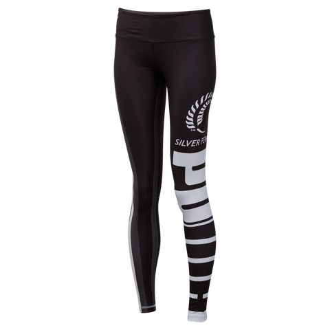 Puma Silver Ferns Training Tights Black/White