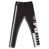 Puma Silver Ferns Youth Training Tights Black/White