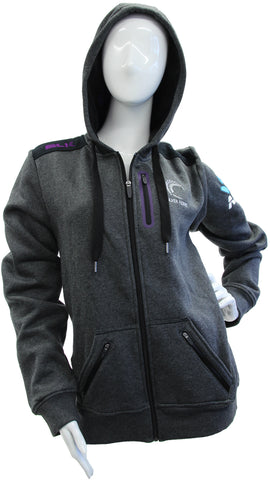Silver Ferns Ladies Hoodie 2017 - Grey