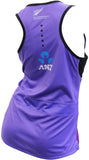 Silver Ferns Ladies Training Singlet - Grape