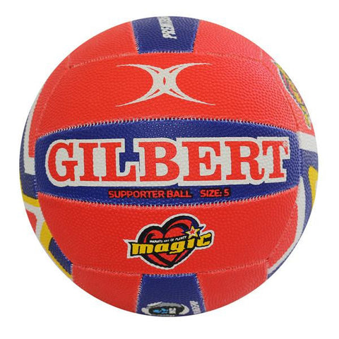 Gilbert ANZ Premiership Magic Supporter Netball (Size 5)
