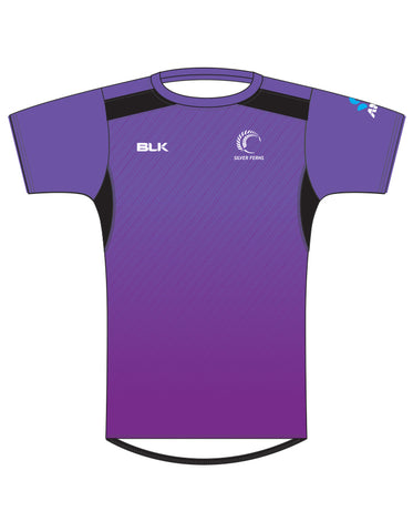 Silver Ferns Kids Training Tee 2017 - Grape