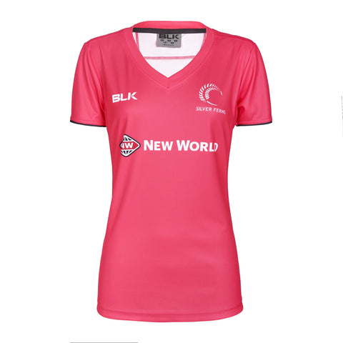 Silver Ferns Ladies Training Tee- Melon