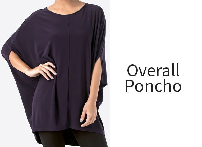 overall poncho