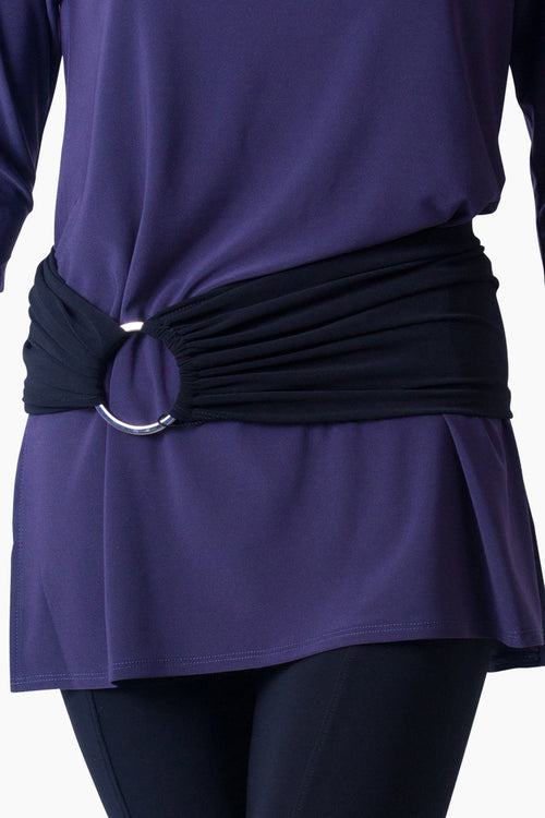 RING BELT PURPLE
