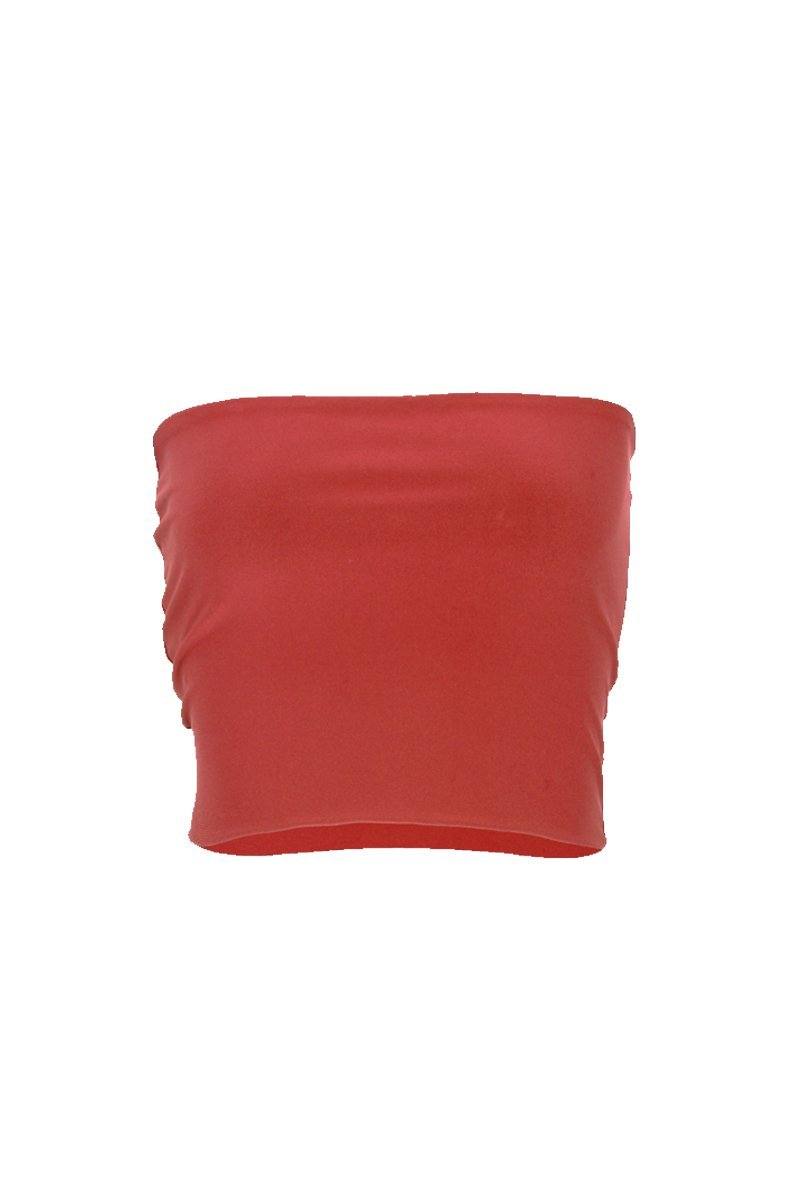 Women's Coral Tube Top Rosarini
