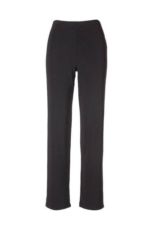Women's Black Basic Pants Rosarini