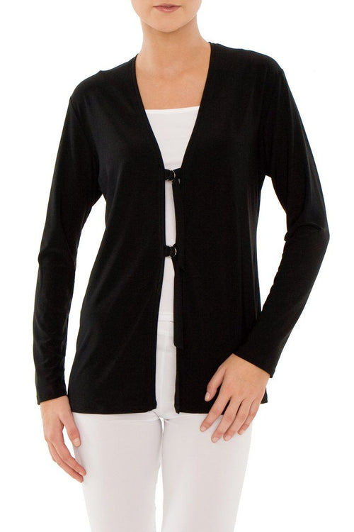 D-Ring Cardigan Black