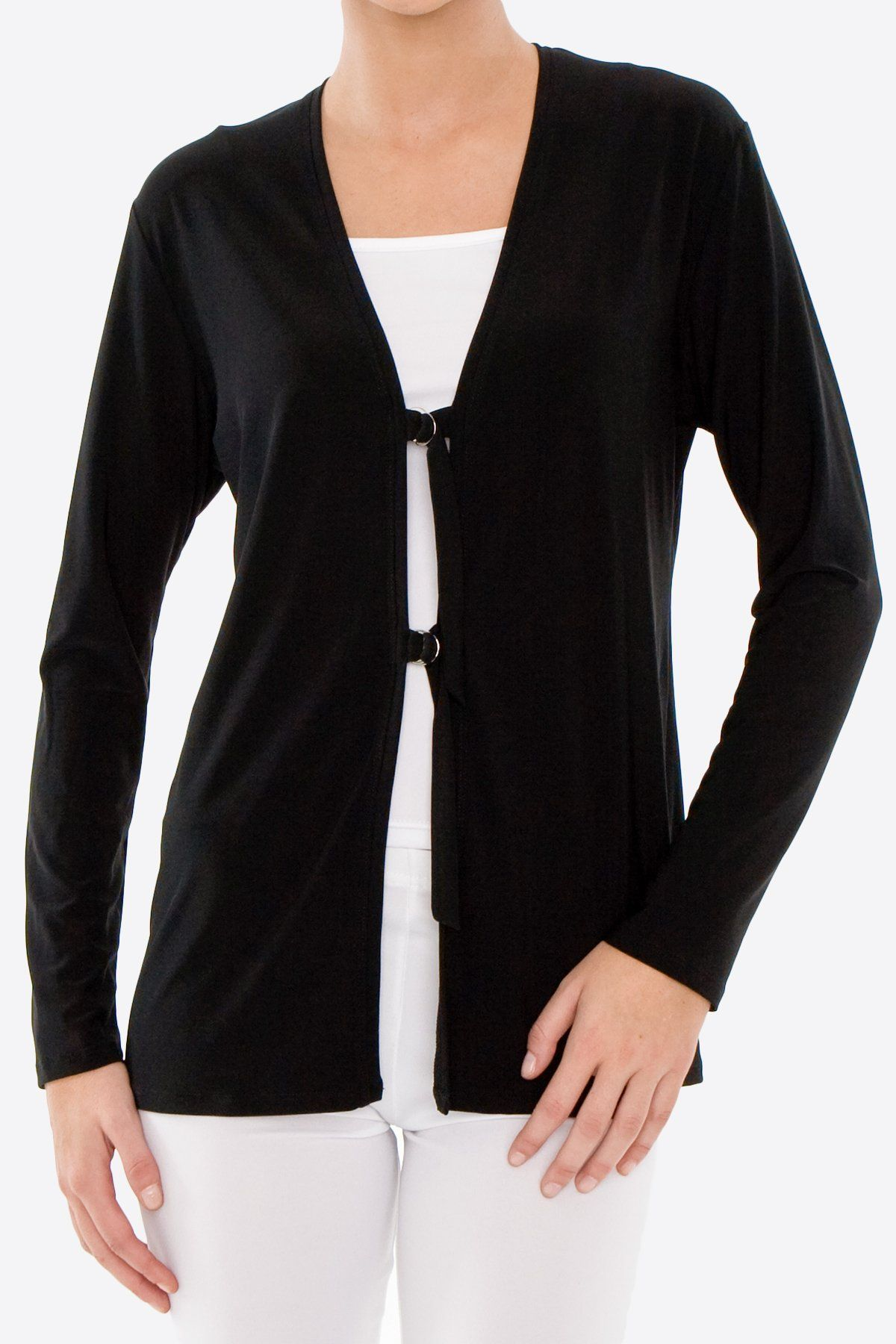 D-Ring Cardigan (Plus Size)