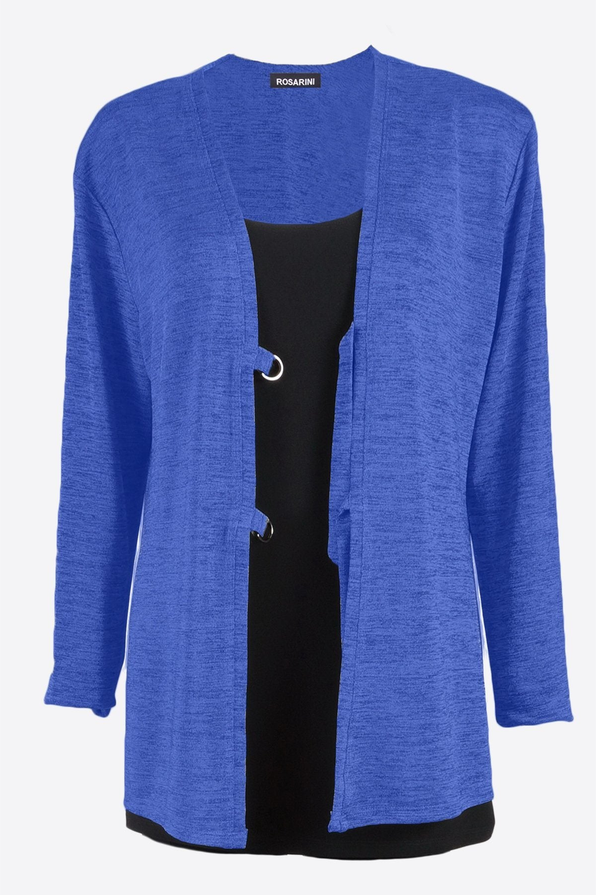 D-Ring Cardigan Slinky Blue