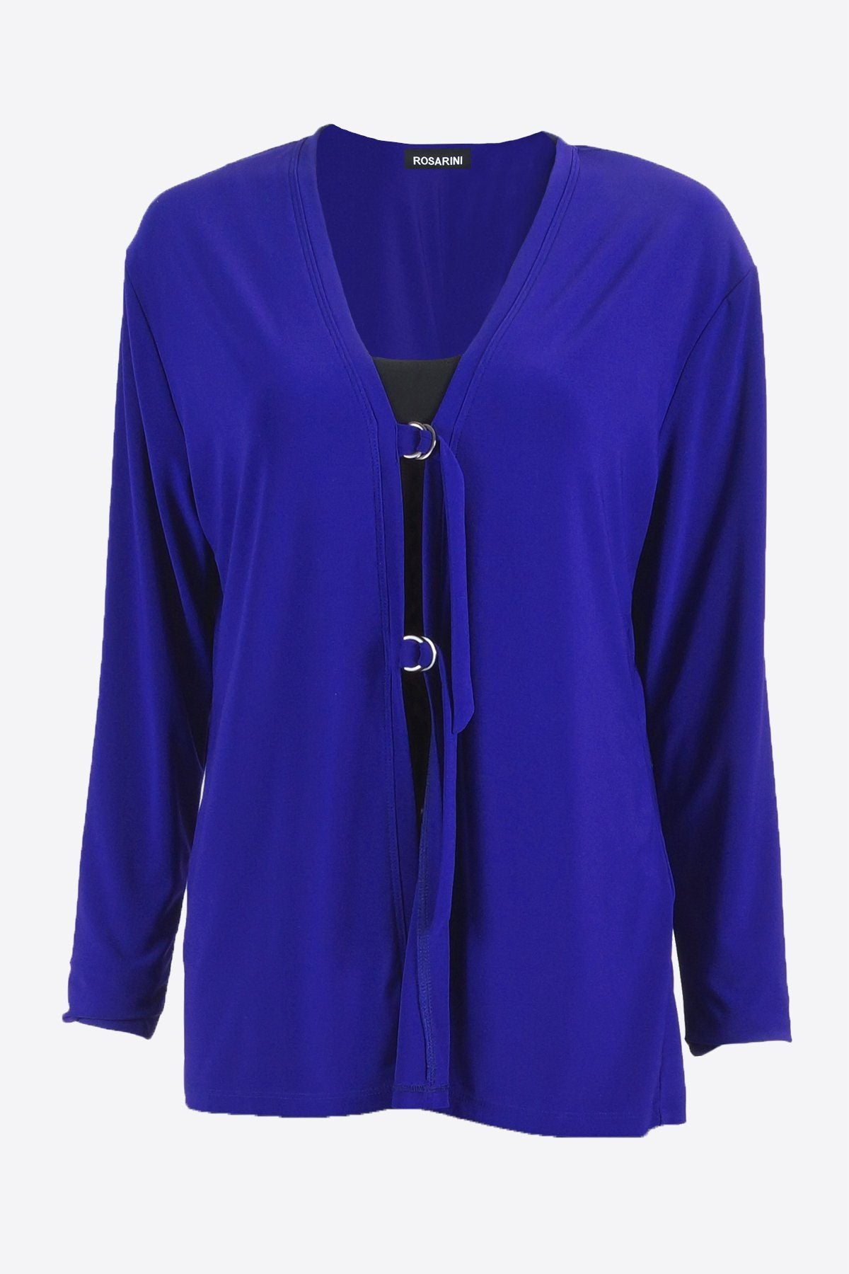 D-Ring Cardigan blue