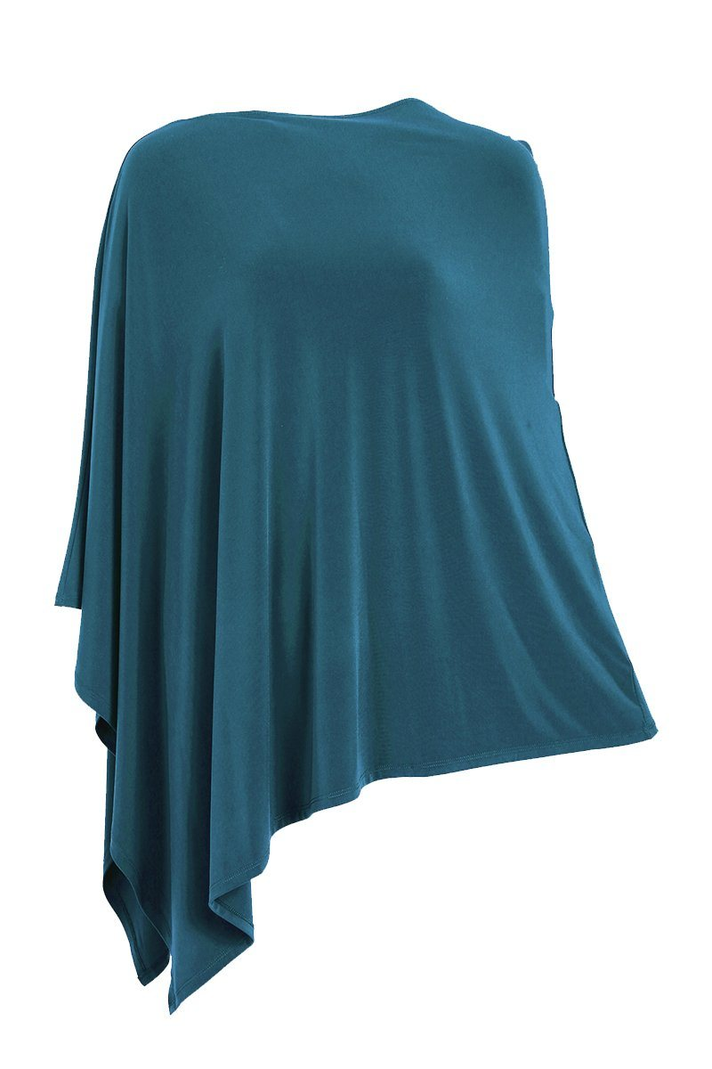 Poncho Teal For Women