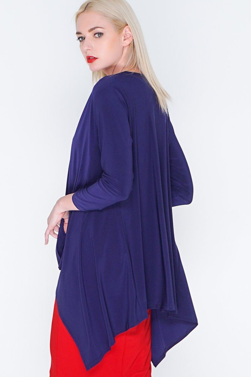 Plus Size Open Front Layering Cardigan
