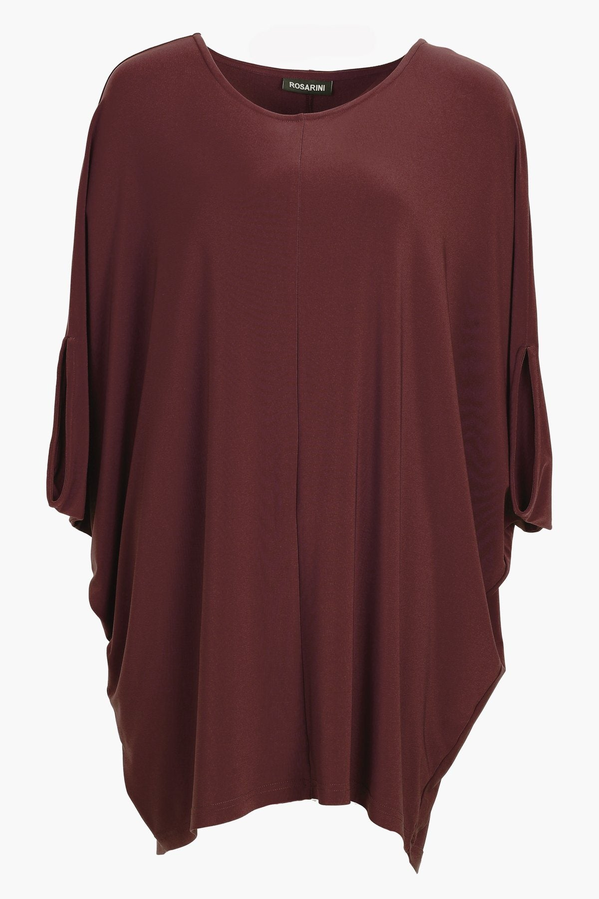 Overall Poncho chestnut