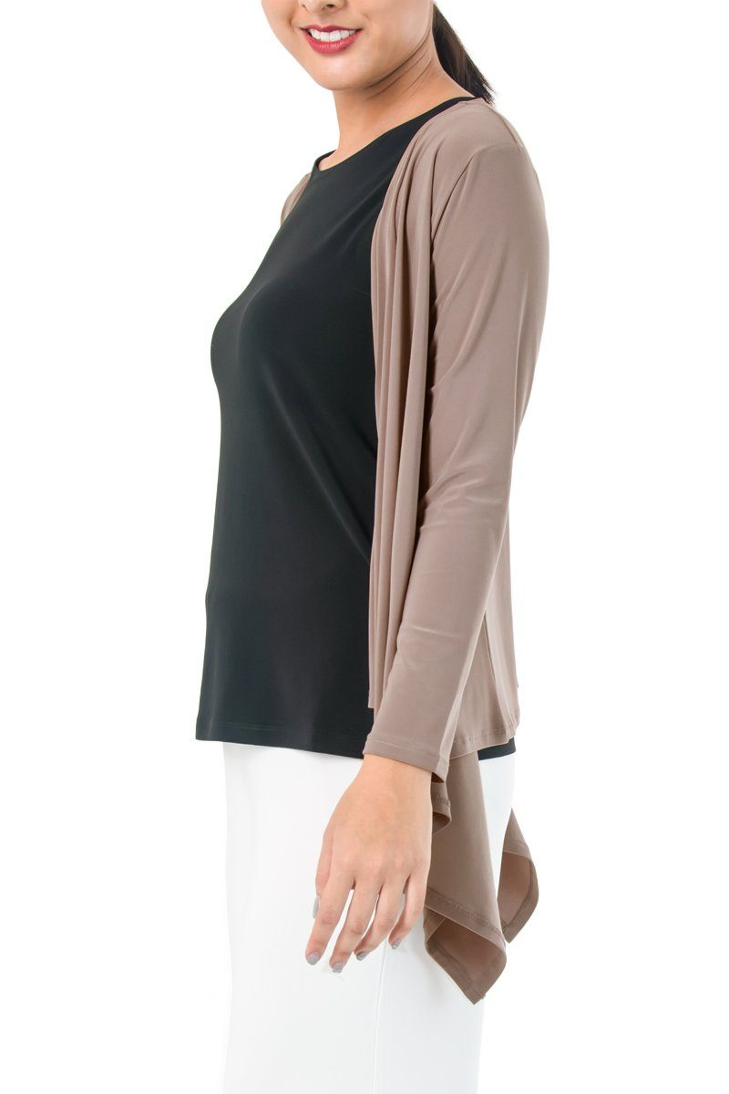 Women's Biscuit Layering Long Sleeve Cardigan Rosarini