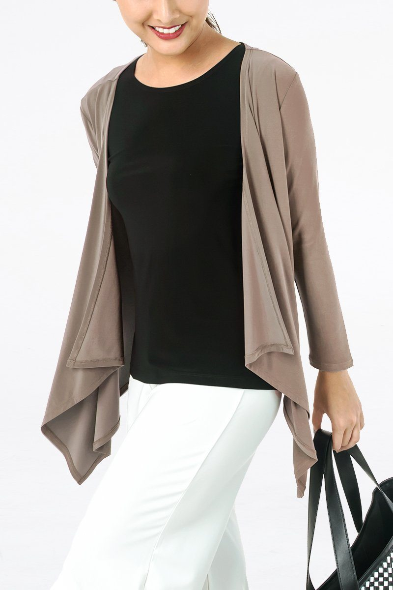 Women's Long Sleeve Layering Cardigan